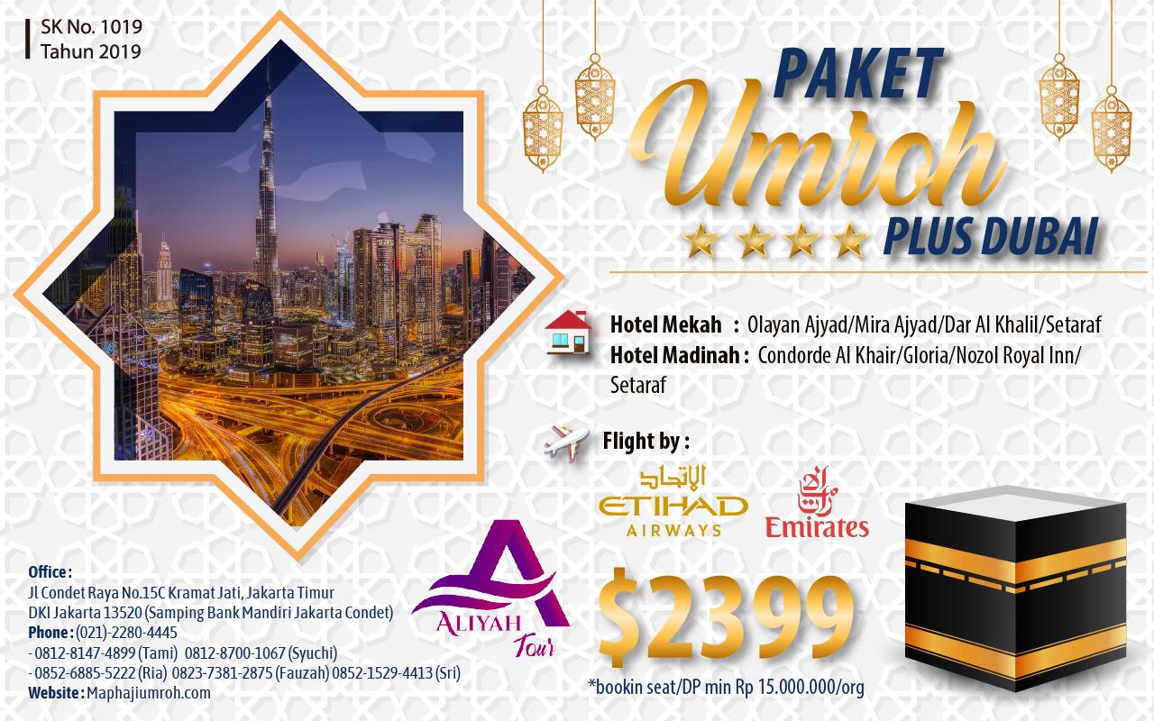 Umroh Plus Dubai 2021