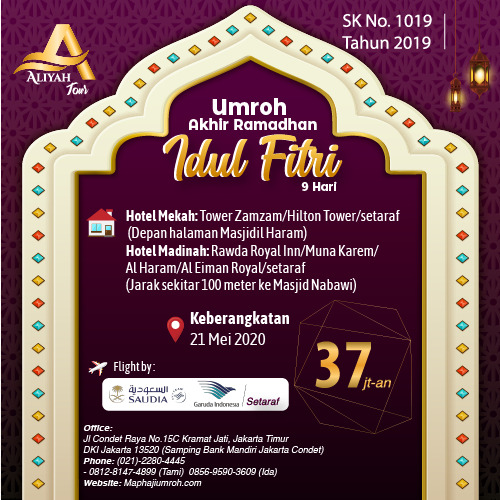 Umroh Idul Fitri