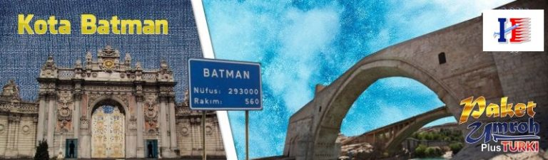 Map Tour ke kota batman