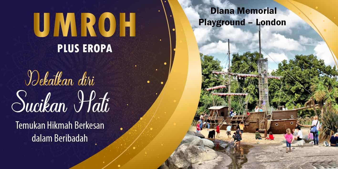 umroh-plus-eropa-map-tour-diana-memorial-playground